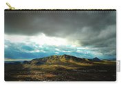 Stormy Mountains In Sunlight Carry-all Pouch