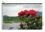 Stormy Roses Carry-all Pouch by Valeria Donaldson
