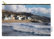 Stormy Seafront - Lyme Regis Carry-all Pouch