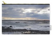 Stormy Seas And Sky Carry-all Pouch