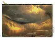 Stormy Skies Above Echo Lake White Mountains  Carry-all Pouch
