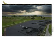 Stormy Sky Over Fort Moultrie Carry-all Pouch