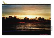 Stormy Sunrise Over The Ocean  Carry-all Pouch