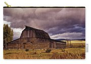 Stormy Sunset At Moulton Barn Carry-all Pouch