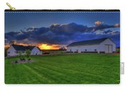 Stormy Sunset In The Country Carry-all Pouch