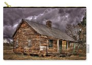 Stormy Times Tenant House Greene County Georgia Art Carry-all Pouch