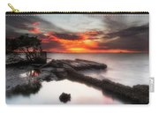 Stormy Twilight Afterglow Carry-all Pouch