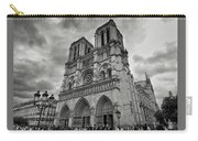 Stormy Views Of Notre-dame Carry-all Pouch