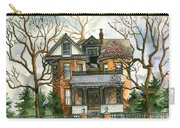 Stormy Winter Skies Carry-all Pouch