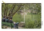 Stow Lake Carry-all Pouch by Kate Brown