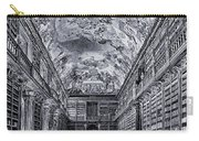 Strahov Monastery Philosophical Hall Bw Carry-all Pouch