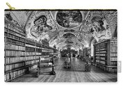 Strahov Monastery Theological Hall Bw Carry-all Pouch