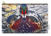 Straight Ahead Wood Duck Carry-all Pouch