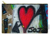 Straight Thru The Heart Carry-all Pouch