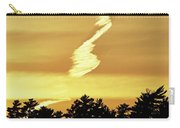Strange Clouds At Sunset I Carry-all Pouch