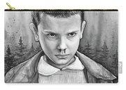 Stranger Things Fan Art Eleven Carry-all Pouch