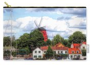 Windmill In Strangnas Sweden Carry-all Pouch