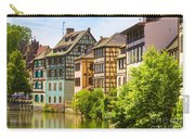 Strasbourg, Half-tmbered Houses, Petite France, Alsace, France  Carry-all Pouch