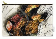Strat Abstracta No. 4 Sunrise Carry-all Pouch