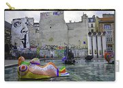 Stravinsky Fountain Near Centre Pompidou In Paris, France Carry-all Pouch
