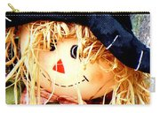 Straw Girl Carry-all Pouch