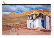 Straw Roof Machuca Church Carry-all Pouch