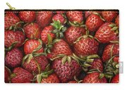 Strawberries -2 Contemporary Oil Painting Carry-all Pouch