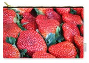 Strawberries 8 X 10 Carry-all Pouch