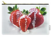 Strawberries And Cream Carry-all Pouch