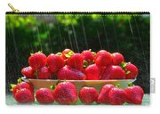 Strawberries And Summer Showers Carry-all Pouch