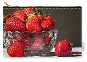 Strawberries In The Sun Carry-all Pouch