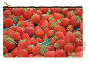 Strawberries Jersey Fresh Carry-all Pouch