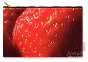 Strawberry Abstract Carry-all Pouch