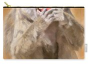Strawberry Baboon Carry-all Pouch