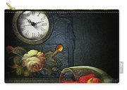 Strawberry Clock Carry-all Pouch