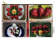 Strawberry Collage Carry-all Pouch