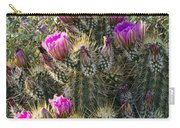 Strawberry Hedgehog Cactus  Carry-all Pouch