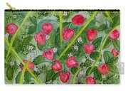 Strawberry Love Patch Carry-all Pouch