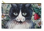Strawberry Lover Cat Carry-all Pouch