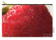 Strawberry Macro Carry-all Pouch