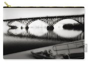 Strawberry Mansion Bridge In Winter Carry-all Pouch