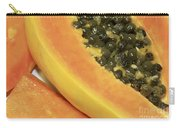 Strawberry Papaya Carry-all Pouch