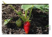 Strawberry Plant Carry-all Pouch