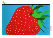 Strawberry Pop Carry-all Pouch by Oliver Johnston