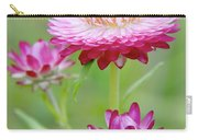 Strawflower Blossoms Carry-all Pouch