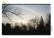 Streaks Of Clouds In The Dawn Sky Carry-all Pouch