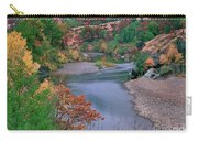 Stream And Fall Color In Central California Carry-all Pouch