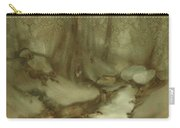 Trees By Stream Carry-all Pouch