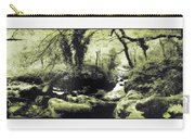 Stream In An Ancient Wood Carry-all Pouch