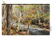 Stream In An Autumn Woods Carry-all Pouch